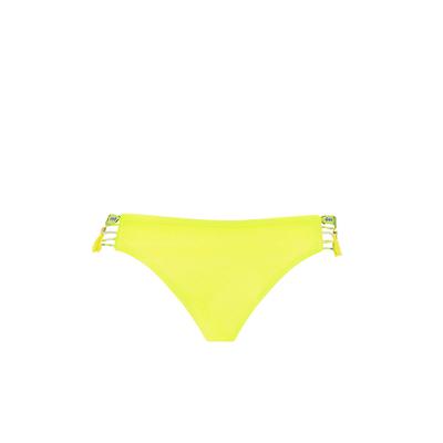 Slip di costume da bagno giallo fluo Uniswim (Pezzo sotto)