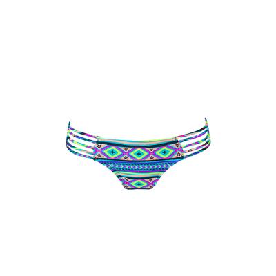 Slip di costume da bagno multicolore Ma culotte Itsy Bikini Ethnique (Pezzo sotto)