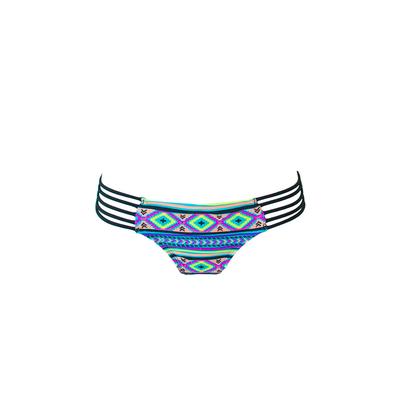 Mon Itsy Bikini Ethnique - Slip multicolore multi lacci (pezzo di sotto)