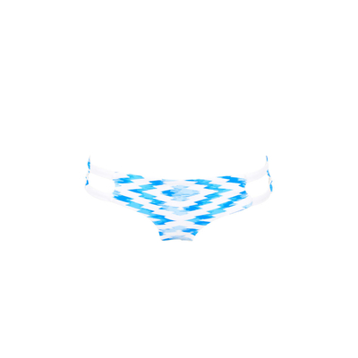 Costume tanga blu reversibile Fregate (Pezzo sotto)
