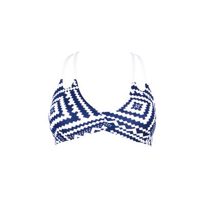 Costume triangolo blu Lupeni (Pezzo sopra)