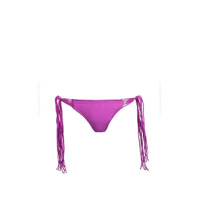 Costume Seafolly - Slip con laccetti viola malva Shimmer (pezzo sotto)