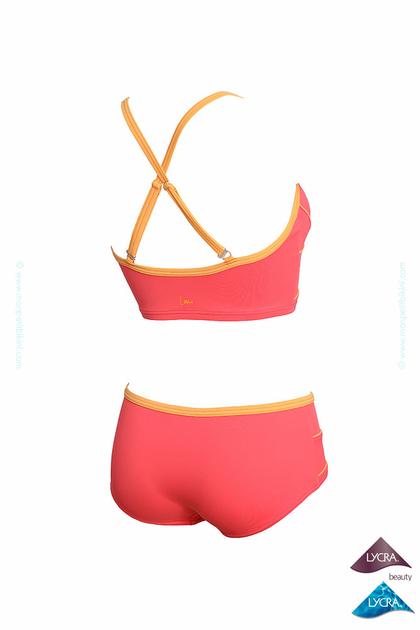 Costume aquagym due pezzi a pantaloncino snellente estate 2016 - Marche costumi da bagno ...