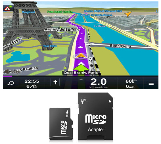 carte gps europe android