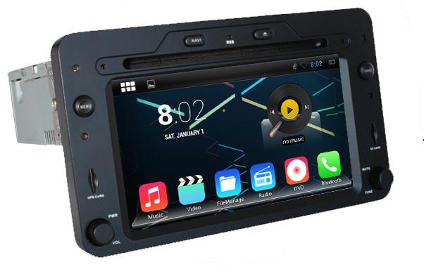 autoradio android 4 4 4 gps alfa romeo 159 brera spider bluetooth usb sd mirrorlink. Black Bedroom Furniture Sets. Home Design Ideas