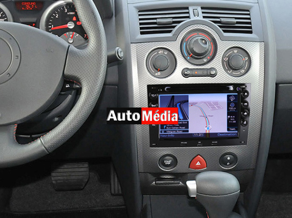 autoradio gps usb bluetooth tactile renault megane 2 auto media. Black Bedroom Furniture Sets. Home Design Ideas