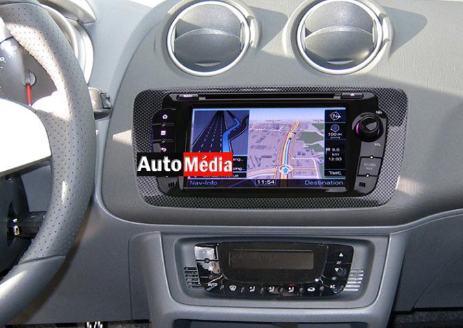 autoradio gps seat ibiza bluetooth usb tactile auto media. Black Bedroom Furniture Sets. Home Design Ideas
