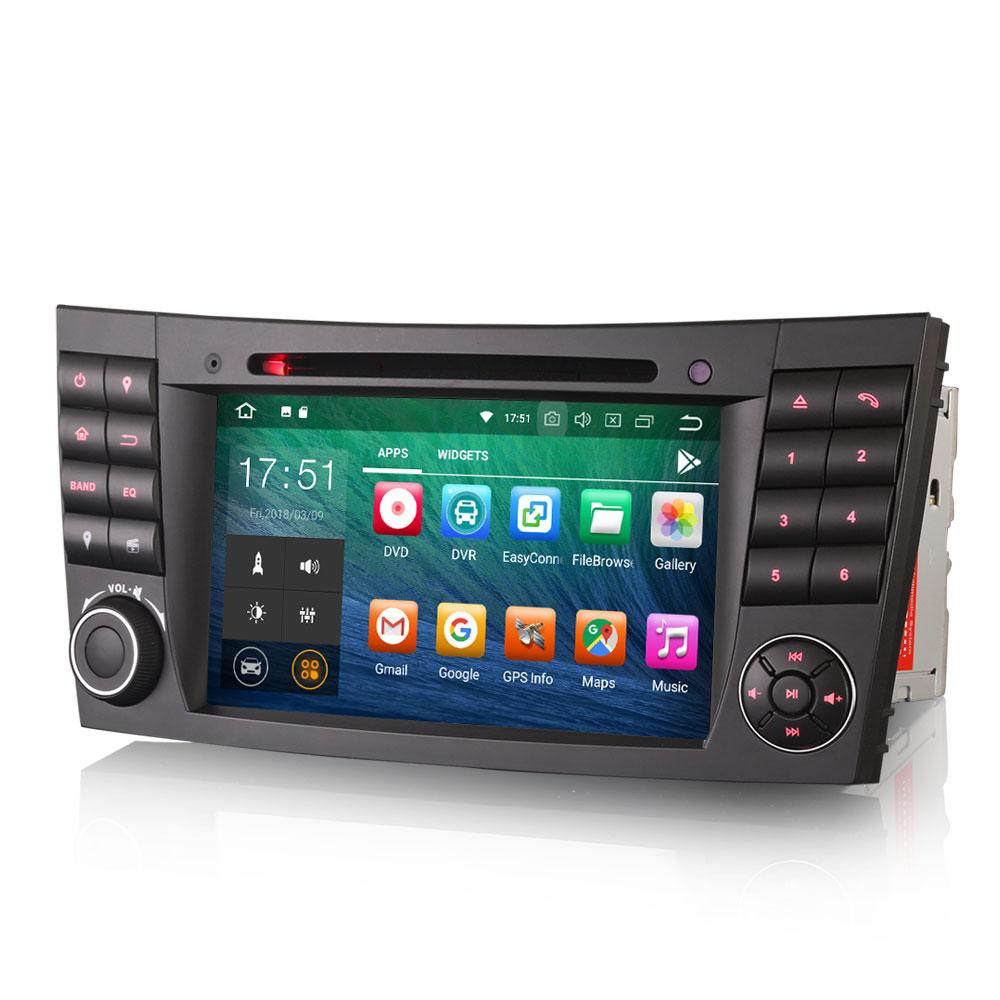 autoradio android 9 0 gps mercedes wifi gps dvd google play store auto. Black Bedroom Furniture Sets. Home Design Ideas