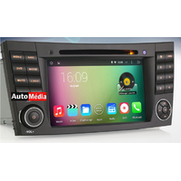 Autoradio Android 4.4.4 GPS Wifi DVD Mercedes Benz Classe E W211, CLS & Classe G W463