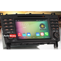 Autoradio Android 4.4.4 tactile GPS Mercedes Benz Classe C W203, Classe G W467 & CLC W203