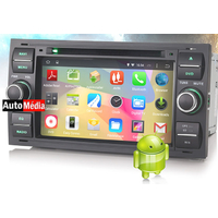 Autoradio Android 4.4.4 WIFI GPS Ford Kuga, C-Max, S-Max, Fiesta, Focus, Fusion, Transit, Mondeo - NOIR ou ARGENTE