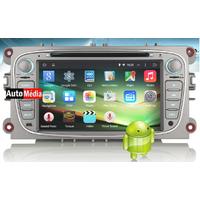 Autoradio Android 5.1 WIFI GPS Ford Mondeo, Focus, S-Max, Galaxy - NOIR ou ARGENTE