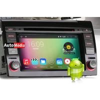 "Autoradio Android 4.4.4 Fiat Bravo depuis 2007- GPS DVD USB Bluetooth écran tactile 7"""