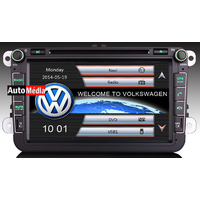 Autoradio 8 Pouces Golf, Passat, Tiguan, Scirocco GPS Bluetooth