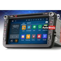 NOUVEAU : GPS 8 Pouces Android 5.1 DVD GPS 3G WiFi DAB+ Volkswagen Golf, Tiguan, Scirocco Eos Touran et Passat Seat et Skoda