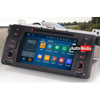 Nouvel autoradio Android 5.1 BMW Série 3 E46 & M3 de 1998 à 2006 - Android 5.1 GPS DVD USB Bluetooth écran tactile 7""