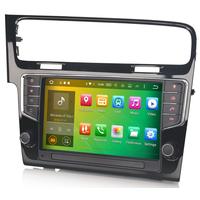 "Autoradio Android 8.1 Volkswagen Golf 7 avec GPS DVD USB Bluetooth écran tactile 9"""