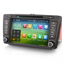 Autoradio GPS WIFI Android 8.1 écran tactile Bluetooth Skoda Octavia de 04/2004 à 2012 et Yeti depuis 2009