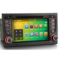 """Poste écran tactile 7"""" sous Android 8.1 GPS DVD Bluetooth Audi A4 de 2004 à 2008"""