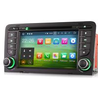 """Poste écran tactile 7"""" sous Android 8.1 GPS DVD Bluetooth Audi A3 de 2003 à 2012"""
