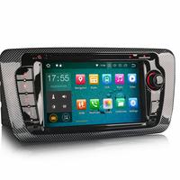 Autoradio Android 8.1 GPS Navigation Bluetooth Seat Ibiza de 2008 à 2013