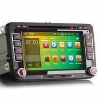 "Autoradio Android 8.1 Volkswagen Eos, Golf 5 & 6, Caddy, Scirocco, Polo, Tiguan, Touran, Passat CC, Amarok, Coccinelle, Seat Leon, Alhambra et Skoda Fabia, Octavia, Superb, Yeti, Roomster & Rapid - GPS DVD USB Bluetooth écran tactile 7"""
