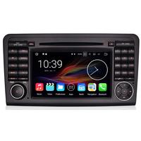 Autoradio Android 8.1 Wifi GPS Navigation écran tactile Mercedes Benz ML W164 & GL X164 de 2005 à 2012