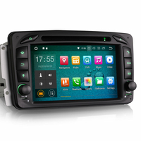 "Autoradio Android 8.1 Mercedes Benz Classe A W168, Classe C W203, Classe E W210, ML W163, CLK, SLK W170, Classe G, Viano & Vito - WIFI GPS DVD USB Bluetooth écran tactile 7"""