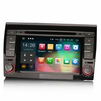 "Autoradio Android 8.1 Fiat Bravo - GPS DVD USB Bluetooth écran tactile 7"""