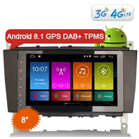 Autoradio Android 8.1 tactile GPS Mercedes Benz Classe C W203, Classe G W467 et CLC W203