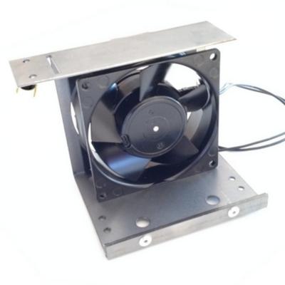 Ventilateur pour inserts FRANCO BELGE 188508 avec support et thermostat