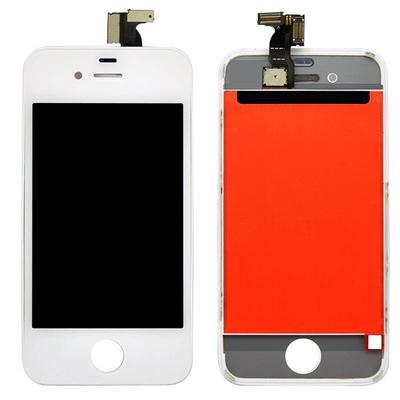 Ecran vitre tactile complet pour iPhone 4S Blanc - Classe AAA