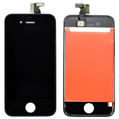 Ecran vitre tactile complet pour iPhone 4S Noir - Classe AAA