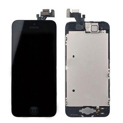 Ecran vitre tactile complet pour iPhone 5S Noir - Classe AAA