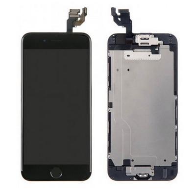 Ecran vitre tactile complet pour iPhone 6S PLUS Noir - Classe AAA