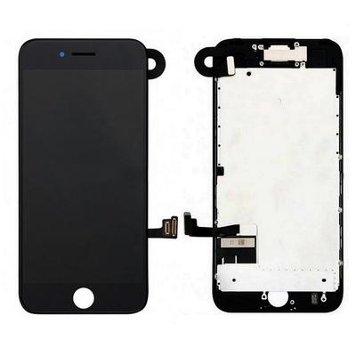Ecran vitre tactile complet pour iPhone 7 Noir - Classe AAA