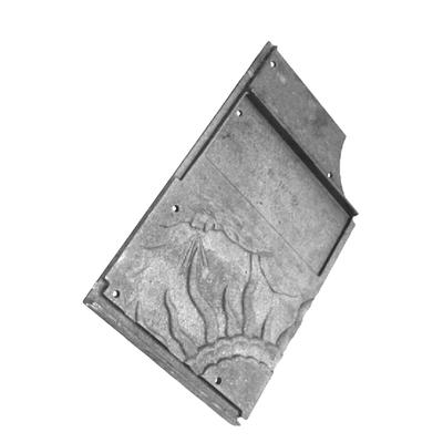 Brique plaque foyère gauche FRANCO BELGE 305006  /  13-110-50