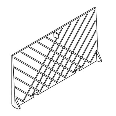 Brique arrière  FRANCO BELGE  305141