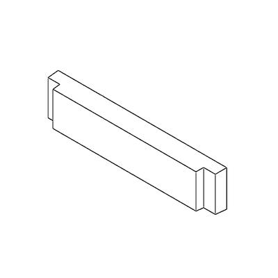 Brique arrière  FRANCO BELGE  105261
