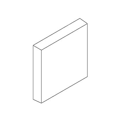 Brique de côté  FRANCO BELGE  105262
