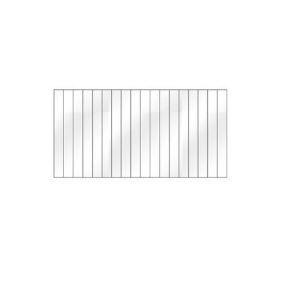 Vitre FRANCO BELGE Convecteur Charbon 18 lamelles - 188711