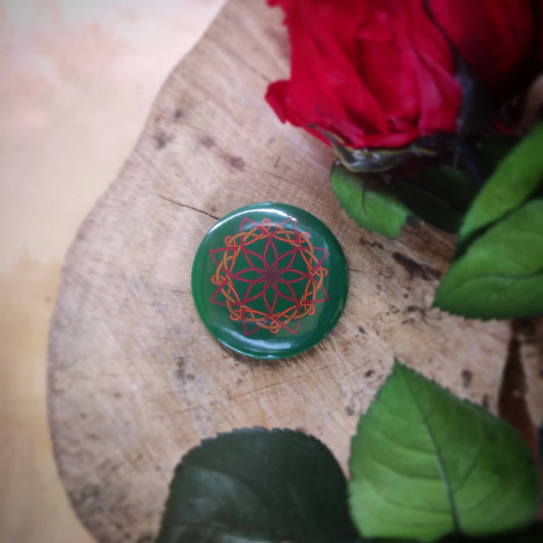 Badge : Rosace celtique (Tony Milord)