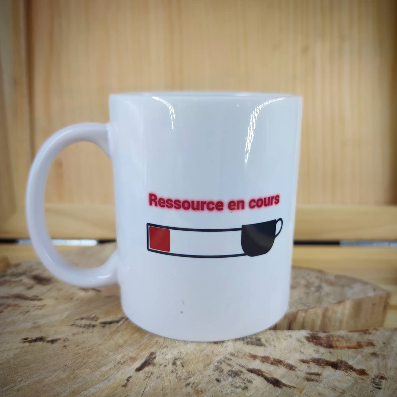 Mug : Recharge en cours