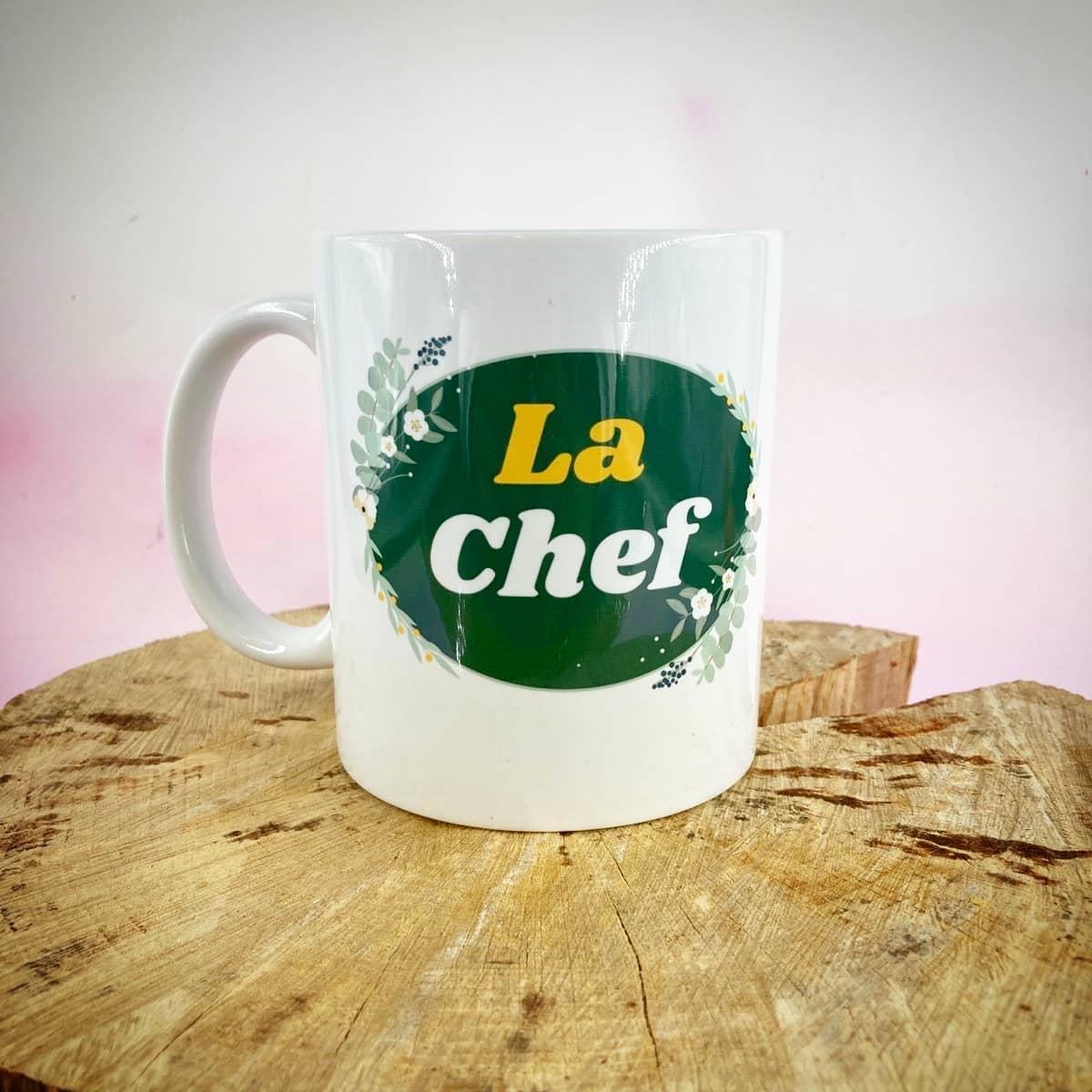 Mug : La chef