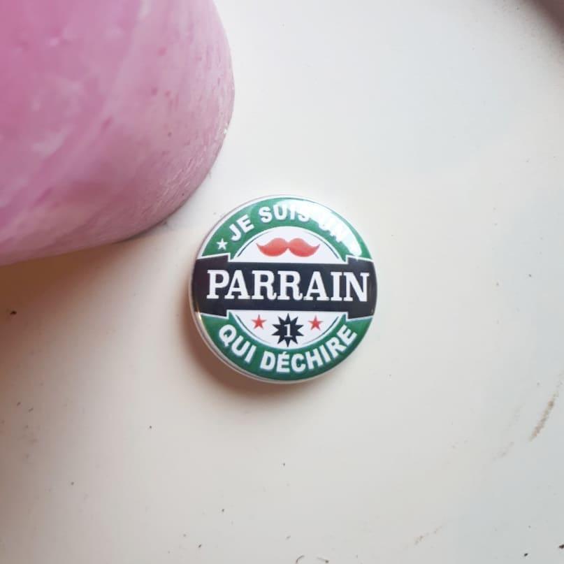 Badge : Parrain qui déchire