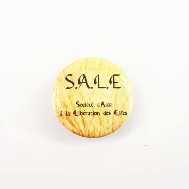 Badge : S.A.L.E