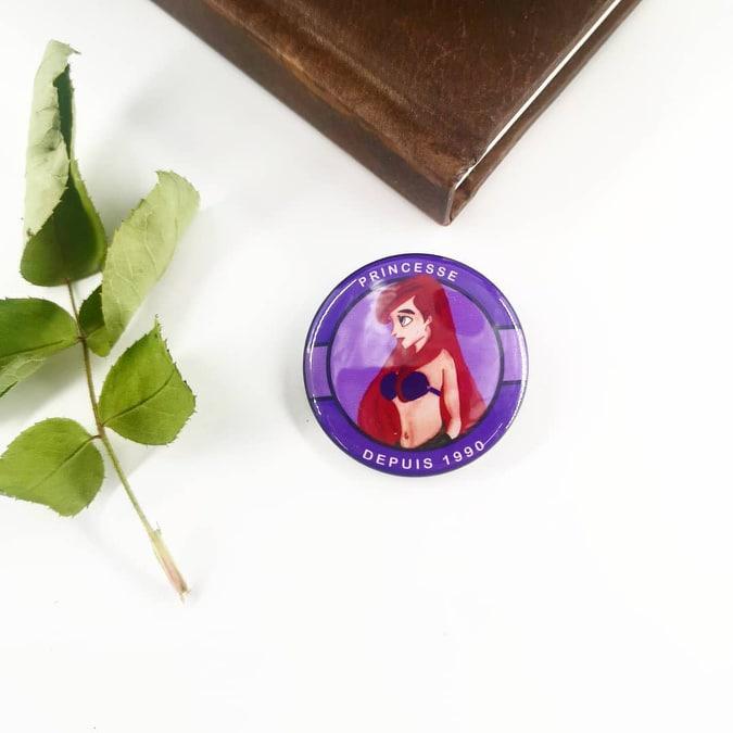 Badge : Ariel