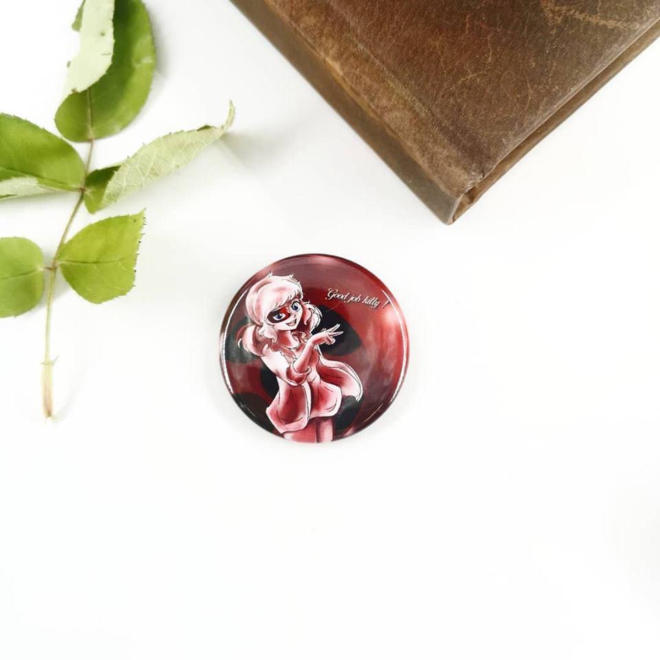 Badge : Ladybug