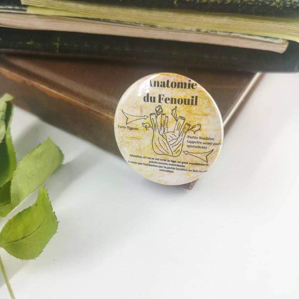 Badge : Anatomie du Fenouil