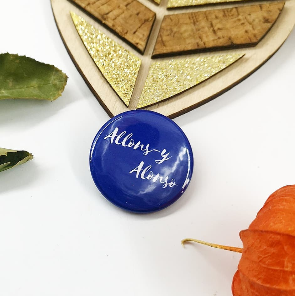Badge : allons-y alonso